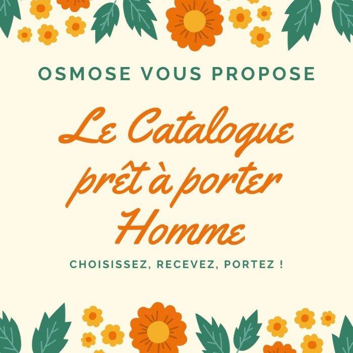 Le Catalogue Homme d'Automne est arrivé chez Osmose