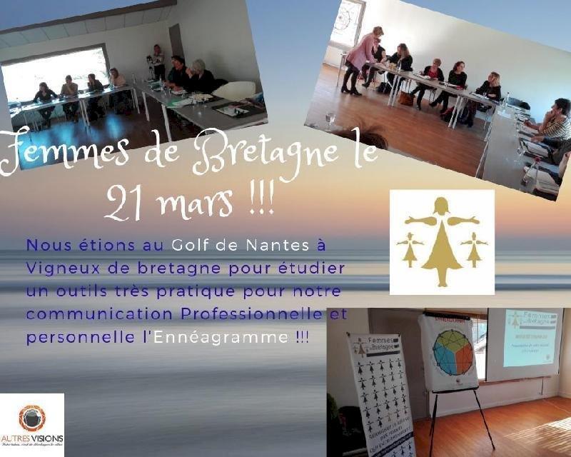 La rencontre de Femmes de Bretagne a passé une demi journée le 21 mars