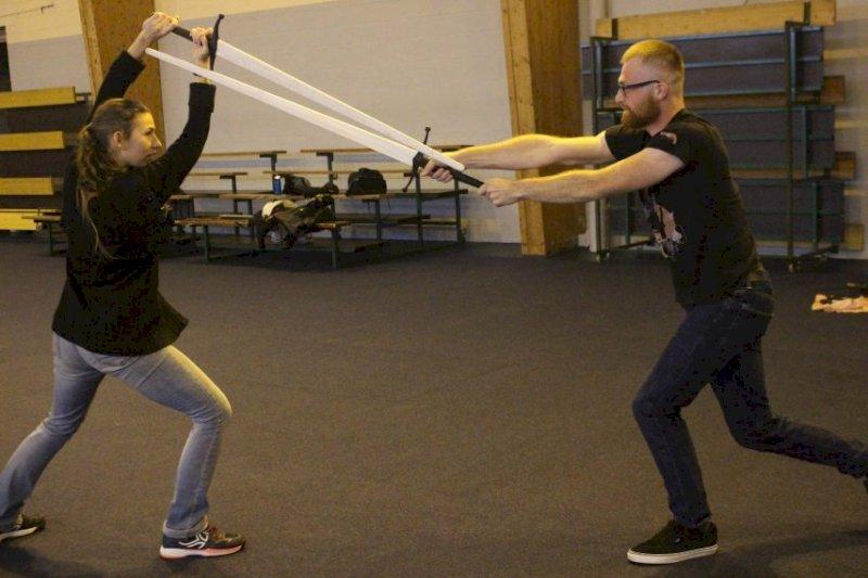 La Meute de Nuada fait revivre les arts martiaux historiques