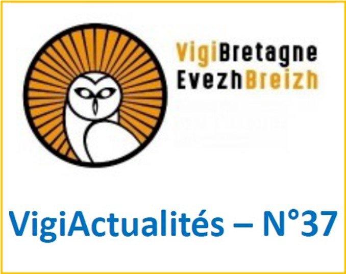 """VigiActualités N°37 est disponible : l'Association """"VigiBretagne / EvezBreizh"""" présente des #PartenaireBreizh5sur5 et les nouvelles #CommuneBreizh5sur5"""