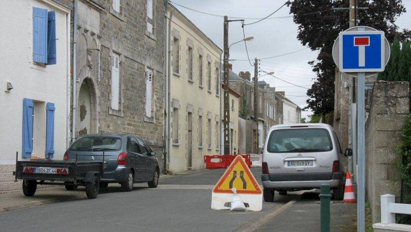 Villeneuve-en-Retz. La rue de l'Elinet fermée à la circulation | Presse Océan