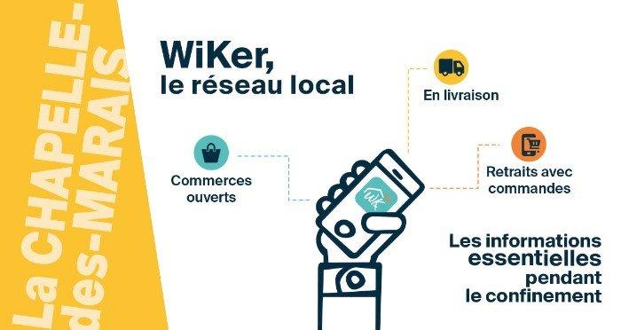 La Chapelle-des-Marais : Ouverture de la plateforme WiKer.fr