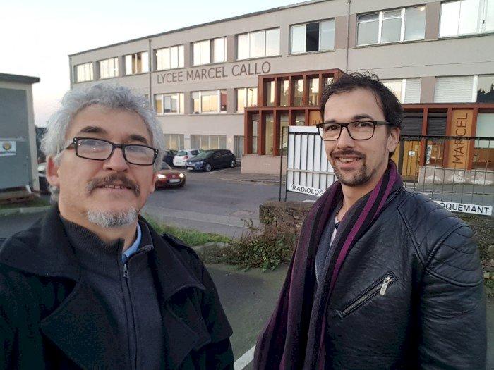 Tournage au Lycée Marcel Callo à Redon par Rémi Valais Production de Guenrouet