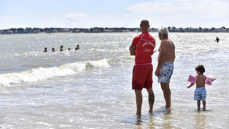 Pornic. Deux jeunes de 12 et 13 ans sauvés de la noyade sur la plage du Portmain | Presse Océan