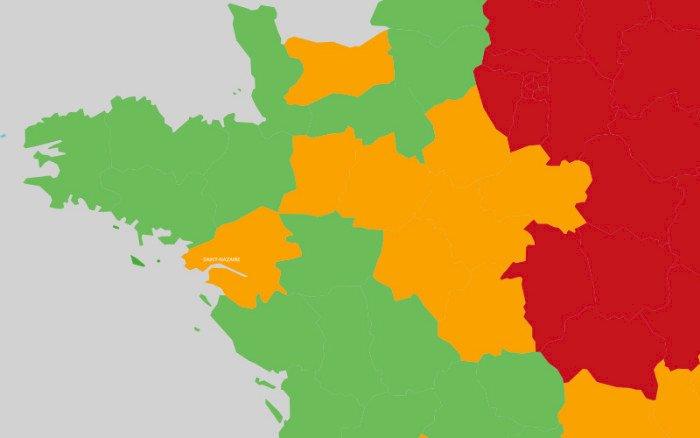 Déconfinement incertain : le département de Loire-Atlantique classé orange