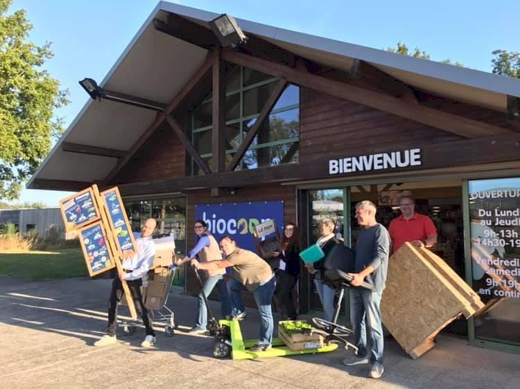 Toute l'équipe de votre magasin Biocoop Le Sillon Bio se prépare à déménager pour le 17 octobre !