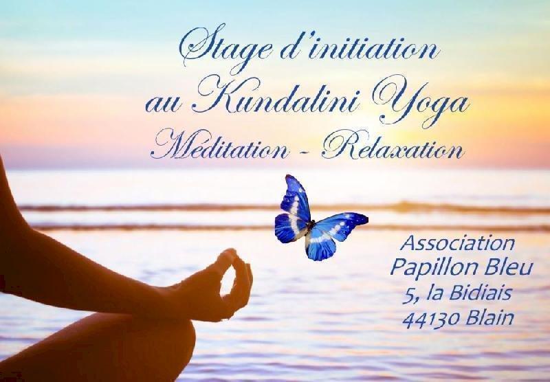Papillon Bleu à Blain : Initiation au Kundalini Yoga