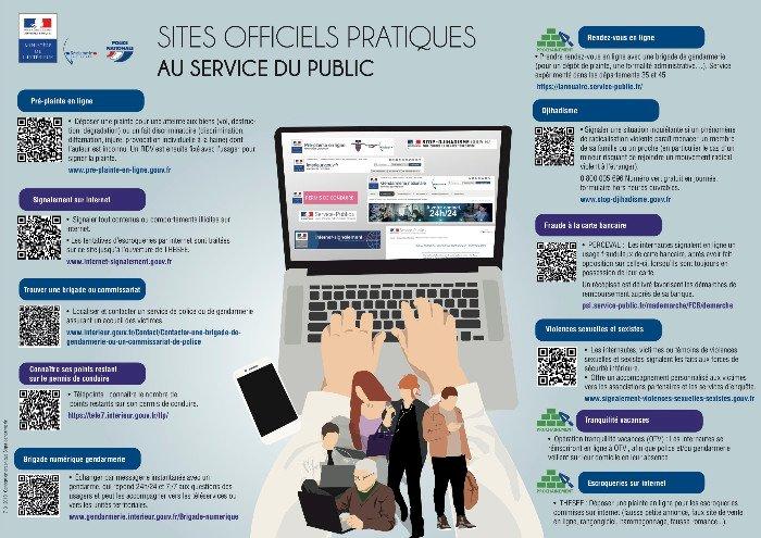 Gendarmerie, police : les sites officiels pratiques au service du public