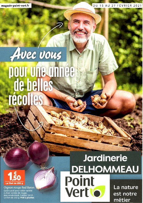 Jardinerie Delhommeau, du 15 au 27 février, des nouveautés coté jardin et animalerie