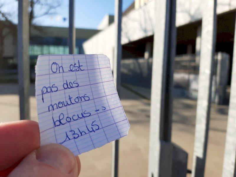 Réforme du bac : à Pornic, des professeurs du lycée du pays de Retz toujours en grève