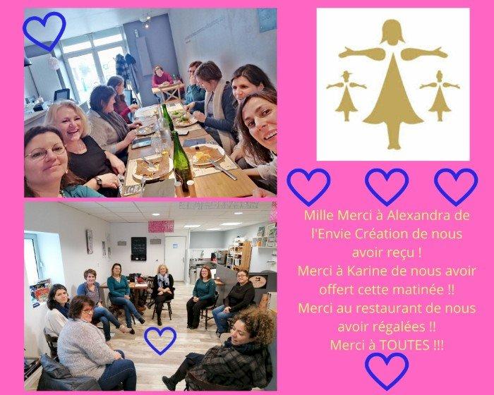 Rencontre mensuelle de Femmes de Bretagne à Héric