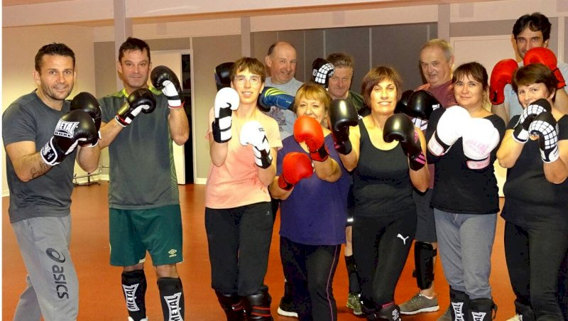 Une pratique ludique du cardio-boxing