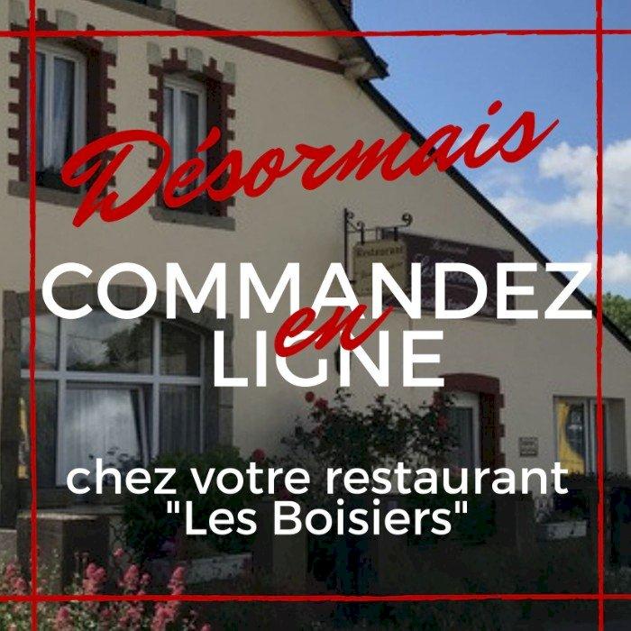 """Le restaurant """"Les Boisiers"""" à St Omer de Blain prend vos commandes en lignes"""