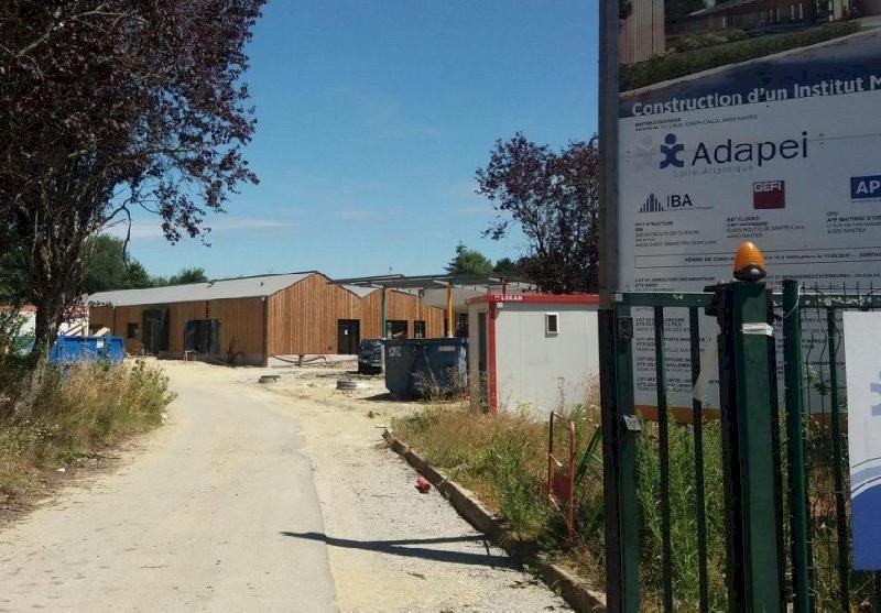 Blain : le chantier du nouvel IME a pris du retard, la livraison reportée
