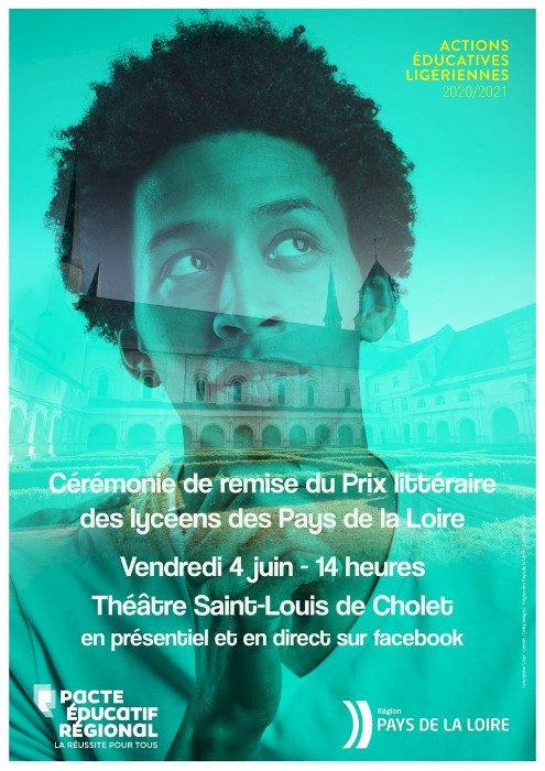 Cérémonie de remise du Prix littéraire des lycéens des Pays de la Loire