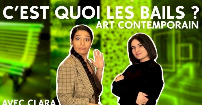 VIDÉO. Invitée de l'émission «C'est quoi les bails ?», Clara Herraiz démystifie l'art contemporain