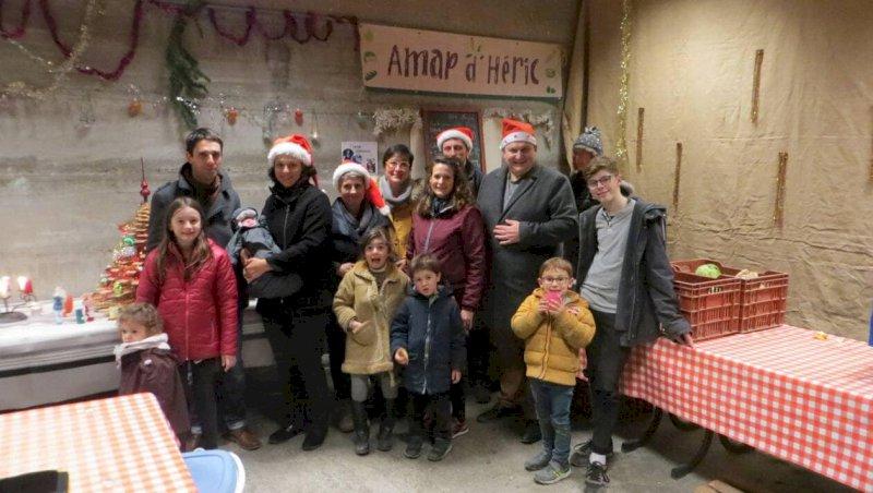 L'Amap inaugure le nouveau local pour Noël.