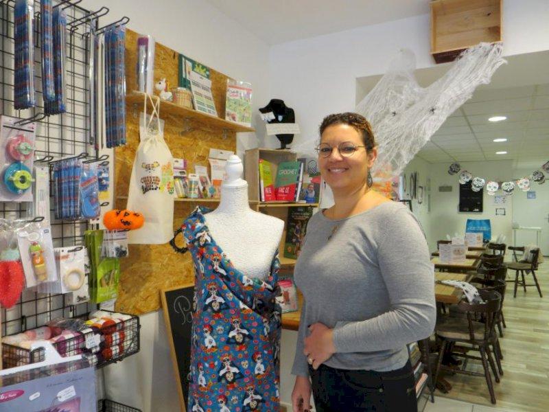 Nouveau commerce à Héric : une mercerie - salon de thé ouverte en centre-ville