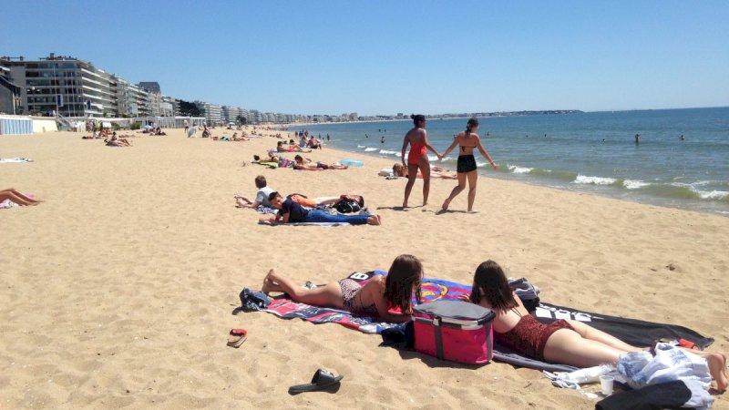 Déconfinement : à La Baule, Pornichet, Pornic les plages basculent en mode bronzette
