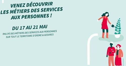 Rallye des Services aux Personnes  pour toute personne en réflexion sur son projet professionnel