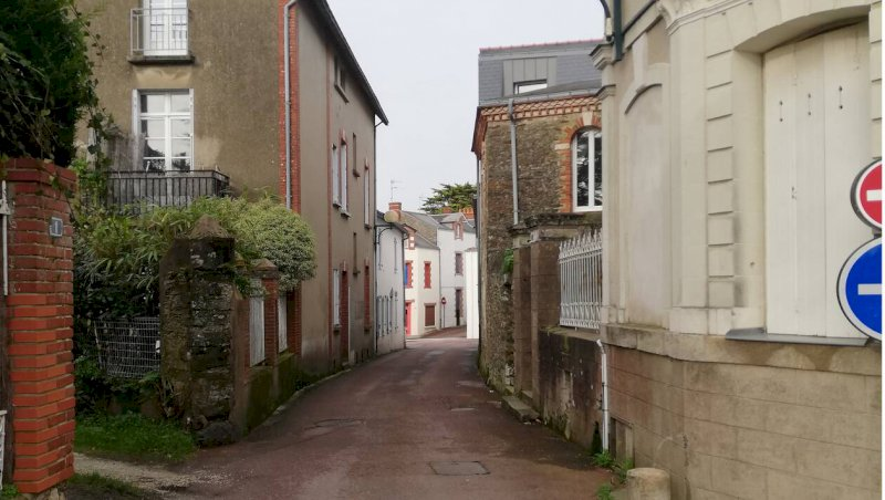Pornic. Histoire de rue: aujourd'hui, promenade rue de la Brandelle | Presse Océan