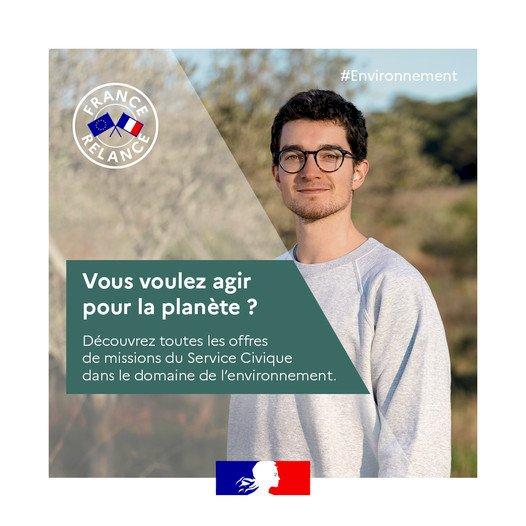 Service Civique : Vous voulez agir pour la planète ?