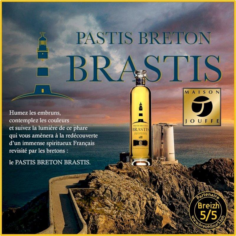 Un nouveau #PartenaireBreizh5sur5 : Maison Jouffe, entreprise familiale Bretonne, créateurs et producteurs des fameux BRASTIS & BRISCARD, Pastis Breton...