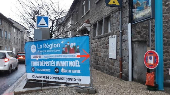 Test Covid Auvergne-Rhône-Alpes