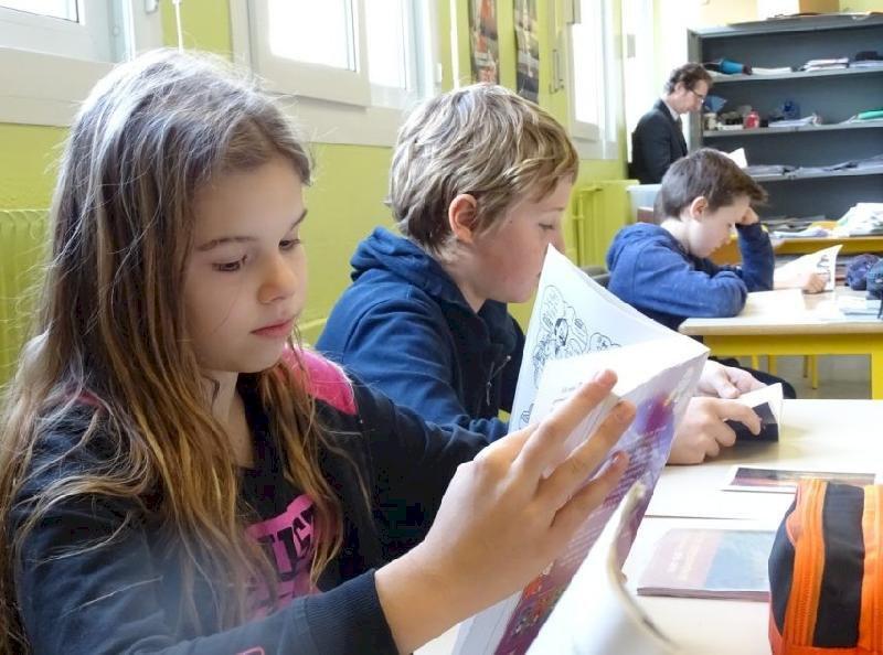 Près de Nantes, ce collège impose tous les jours un quart d'heure de lecture aux élèves