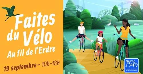 Faites du vélo au fil de l'Erdre revient le 19 septembre 2021