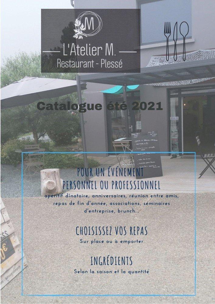L'Atelier M à Plessé a mis en ligne un catalogue !