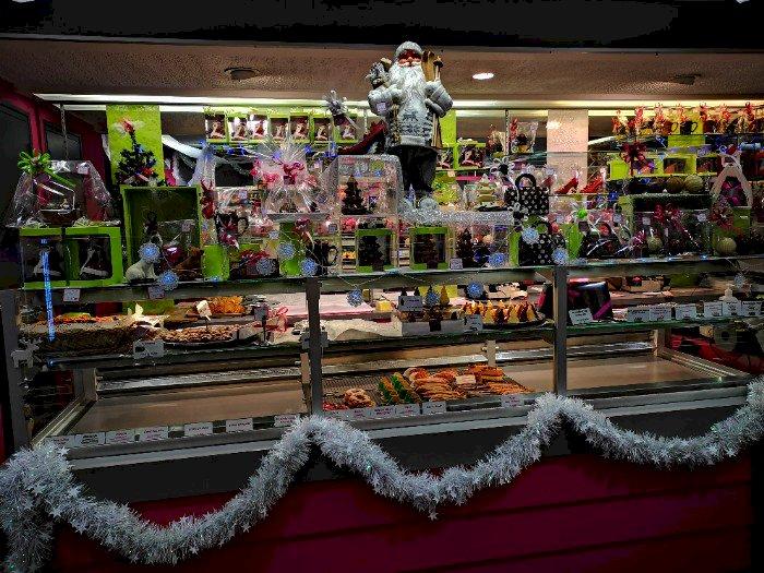 Ambiance de Noël et Gourmandises de Noël à La Pâtisserie Sécher à Blain