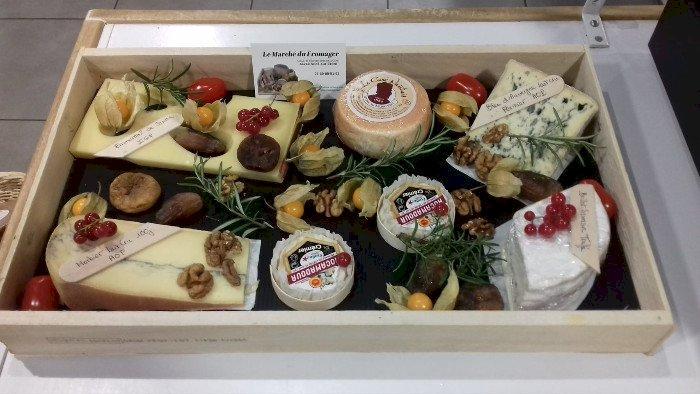 De beaux plateaux de fromages pour vos repas de fin d'année !