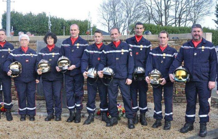 48 pompiers au centre de secours en 2020