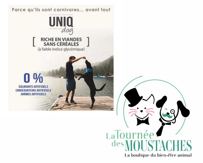 Sur La Loire Atlantique Nord, des croquettes sans céréales livrées chez vous par une entreprise locale.
