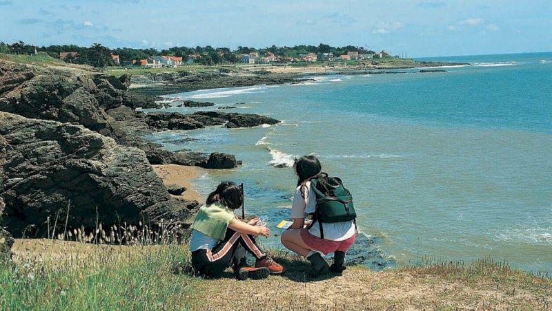 L'été en Loire-Atlantique. Nature : de Pornic à Préfailles par le sentier des douaniers   Presse Océan
