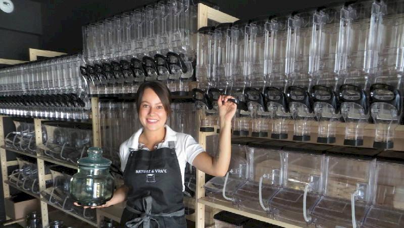 Héric. Emballée par le vrac, Caroline Bretel ouvre son épicerie Nature & Vra'c
