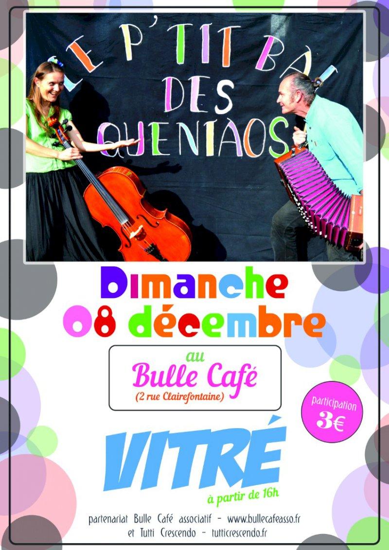 Vitré - Concert Le P'tit Bal des Queniaos
