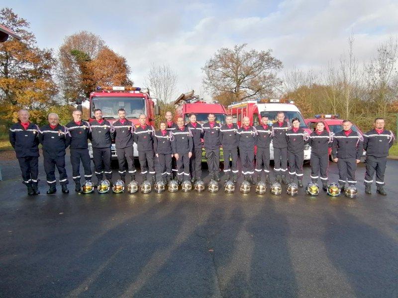 les Pompiers fêtent leur sainte patronne