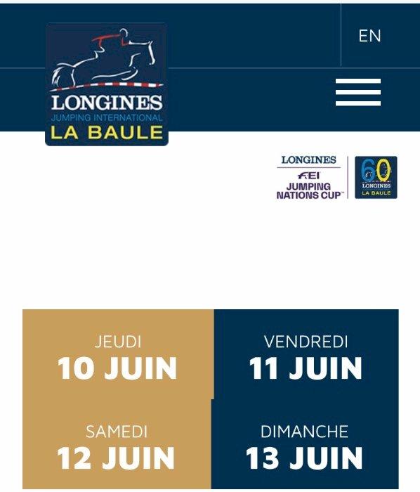 Covid-19 à La Baule : le Jumping international décalé d'un mois