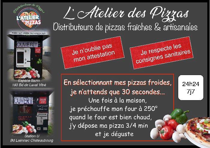 Distributeurs de Pizzas Artisanales