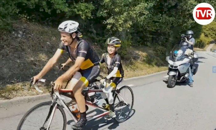 Reportage de TV Rennes : Léo Trohel - Tour de France à 12 ans