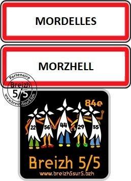 """Une nouvelle commune s'affiche """"Breizh 5/5"""" : Mordelles / Morzhell (35)"""