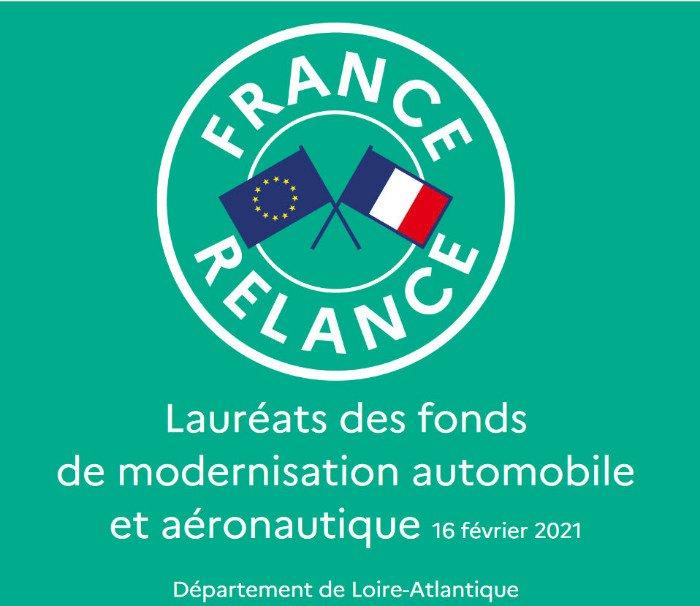Quelles sont les entreprises lauréates de France Relance en Loire Atlantique ?