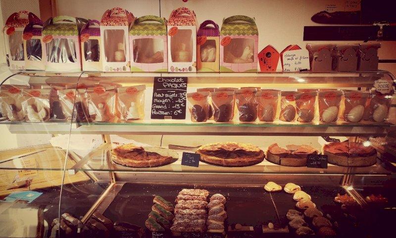 Gourmandises et chocolats pour Pâques à la boulangerie Boul 2 Blain à Blain