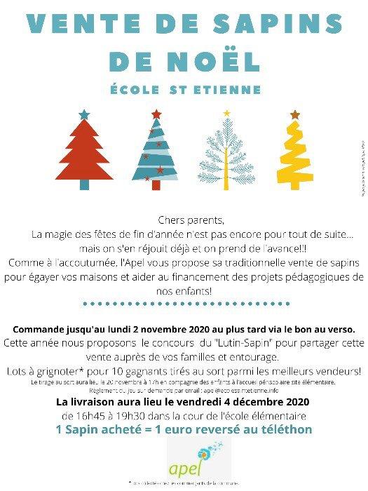 Vente de Sapins de Noël à Sucé sur Erdre