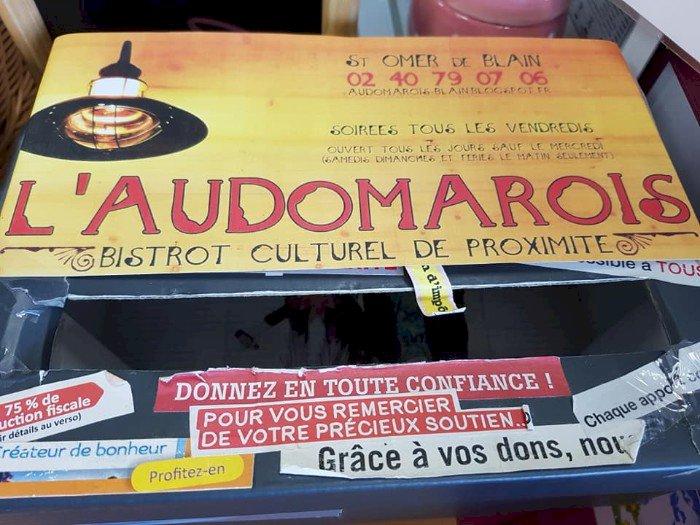 """Cagnotte pour le """"bistrot culturel de proximité"""" l'Audomarois à St Omer de Blain"""