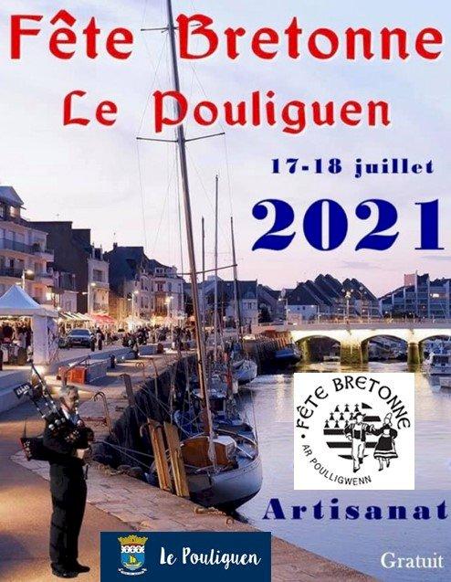 """Samedi 17 et dimanche 18 juillet 2021 : Stand """"Breizh 5/5″ au Pouliguen"""