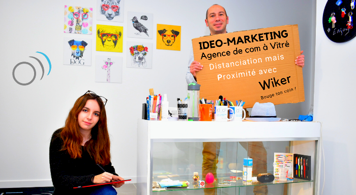 IDEO-MARKETING, PARTENAIRE DE WIKER !