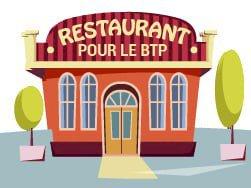 L'estaminet restaurant est ouvert pour les ouvriers du bâtiment et les paysagistes